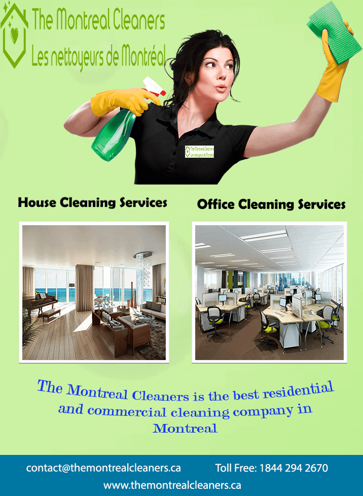 Montreal Residential and Commercial Cleaning Services