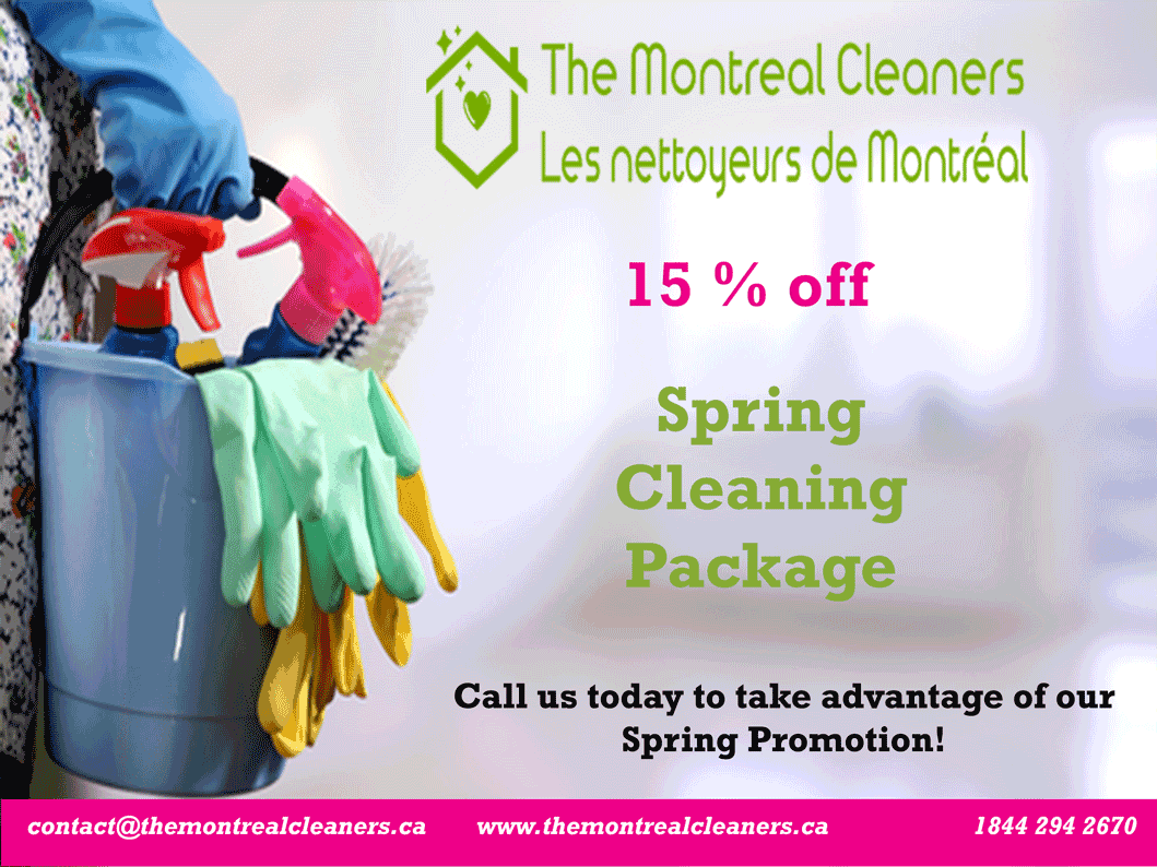 spring cleaning montreal