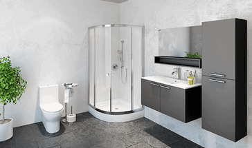 Entretien menager residentiel et commercial a montreal - Salle de bain a la chaux ...