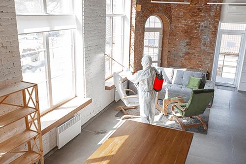 Nettoyage et désinfection résidentiel, commercial & industriel