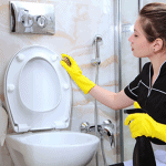 deep clean and disinfect your bathroom
